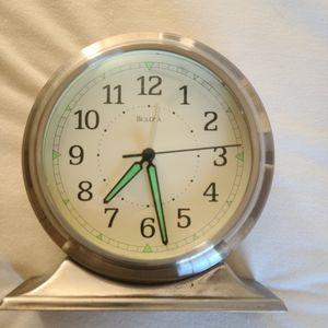 Pottery Barn Bulova mantel shelf clock